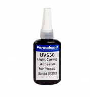 Клей ультрафіолетовий полурідкий для скла металу та пластику Permabond UV-630 50 мл