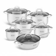 Набір кухонного посуду Edenberg EB-4001 з нержавіючої сталі (KI5801478)