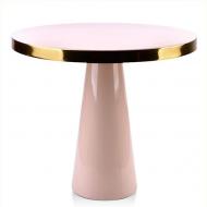 Столик металлический Flora Anisha Розовый (35325)