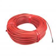 Нагрівальний карбоновий кабель 60 м 33 Ом