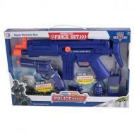 Набір поліцейського зброї CH Toys з автоматом і пістолетом (57119)
