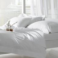 Комплект постельного белья двойной Еней-Плюс МІ0010 Белый