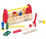 Набір інструментів Bino Будівельник дитячий дерев'яний 30х14х16,5 см