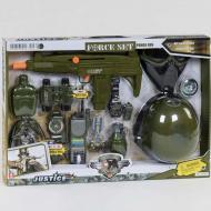 Військовий набір Ocoqo з каскою маскою і аксесуарами (35079)