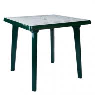 Стіл пластиковий Алеана квадратний  80x80 см Зелений