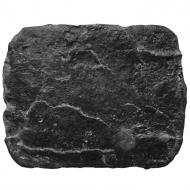 Штамп гумовий BobrovMold Скала велика з імітацією каменю 600x480 мм 0,3 м² Чорний (VS-01)