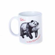 Чашка Шмидт Студия панда Ща... только возьму разгон керамика 320 мл Белый ( 319338371 )