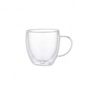 Набір чашок Flamberg Glassy 240 мл 2 шт. (ЧШ77)