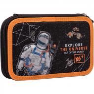 Пенал шкільний YES HP-01 Explore the universe Чорний (5056137169641)