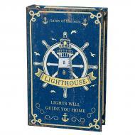 Книга-сейф на ключе Маяк 26х17х5 см (0001-024)