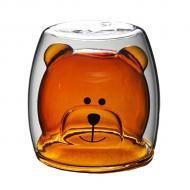 Чашка c двойными стенками Медведь ML 270 мл (B2701)