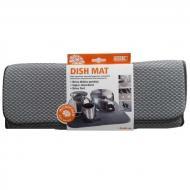 Коврик для посуды Smart Микрофибра 41х46 см Серый