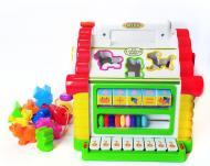 Сортер Play Smart Теремок з піаніно і підсвічуванням Різнокольоровий