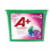 Гель-капсули для прання А+ 4в1 Fresh Flowers парфумовані 38 шт.