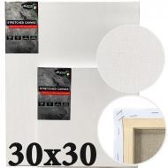 Полотно на підрамнику італійська бавовна середнє зерно Monet 30х30 см (MP3030)
