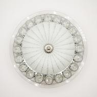 Люстра світлодіодна Luminaria Касабланка 25 Вт Сріблястий (01375)