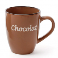 Чашка керамическая Flora Chocolat 0,36 л (31326)