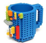 "Чашка-конструктор SUNROZ в стиле ""Lego"" Синий SUN3776"