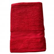 Полотенце махровое Aisha Home Textile Загадка 70x140 см Красный