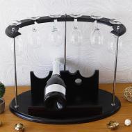 Минибар для вина настольный Гранд Презент Престиж на 6 рюмок (SS0081)