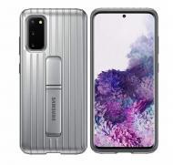Чохол протиударний Official Protective Rugged Standing Cover EF-RG980CSEGRU з підставкою для Samsung Galaxy S20 Silver