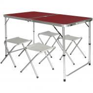 Туристичний стіл і 4 стільця Folding Table