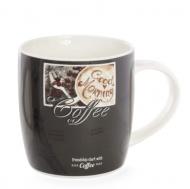 Чашка фарфоровая Flora Французский кофе 0,375 л (31594)