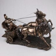 Статуэтка Elisey Римский воин на колеснице (72706 A4)