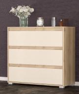 Комод Мебель Сервис Торино 2Д1Ш Артисан + Шампань 84,1х35х77,3 см