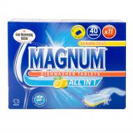 Таблетки для посудомийної машини Magnum All in 1 Lemon 40 шт.