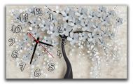 Часы настенные Idea Цветочное дерево 30х50 см