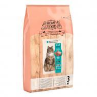 Корм HOME FOOD для дорослих  кастрованих/стерилізованих котів Кролик та журавлина  3 кг