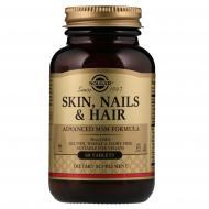 Витамины Solgar Skin, Nails & Hair 60 таб Без вкуса