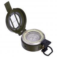 Магнитный компас Zelart в металлическом корпусе d 55 мм Оливковый (K60)