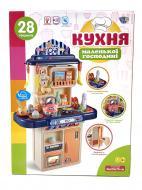 Кухня дитяча Limo Toy 16854C з водою 28 предметів (39396893)
