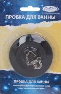 Пробка для раковини Arino Чорний 36707