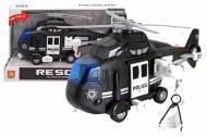 Вертоліт інерційний WenYi Поліція озвучений/зі світлом 32,5x12x19 см Чорний (WY750C)