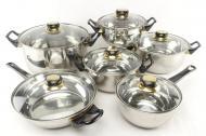 Набор посуды A-Plus 9036 12 предметов