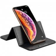 Автотримач силіконовий килимок Baseus Folding Bracket Antiskid Pad Black