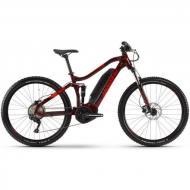 """Електровелосипед Haibike Електровелосипед Haibike SDURO FullSeven Life 1.0 500Wh 10 s. Deore 27.5 """", рама M, вишнево-чорно-червоний, 2020 (4540216043)"""