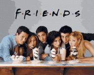 Картина по номерам Friends 40х50 (GX38057)
