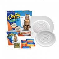 Набір CitiKitty Toile для привчання кішки до унітазу туалету