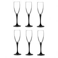 Набор Бокалов для шампанського Luminarc Domino 170 мл 62444