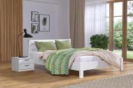 Ліжко дерев'яне Рената Люкс 160х200 см Біле