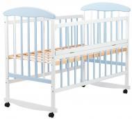 Ліжко Наталка ОБГО відкидний бік вільха Біло-блакитний (625498)