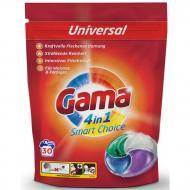 Гель-капсули для прання білизни Gama 4в1 Універсальні 30 шт. (826996)
