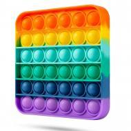 Игрушка-антистресс Pop It Радужный квадрат (120.469)
