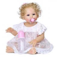 Кукла коллекционная Реборн девочка Бэлла 47 см