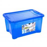 Контейнер Ал-Пластик Easy box 14 л Синій (MAP-71870)