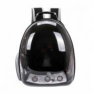 Рюкзак-переноска Taotaopets 253304 Panoramic Black 35x25x42 см з ілюмінатором